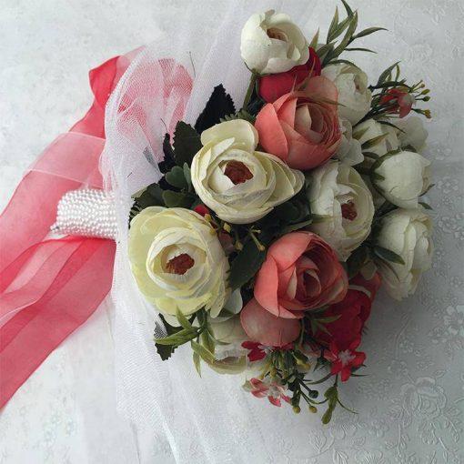 1596852956625813 Gelin Buketi Çiçeği Kırmızı Set 4 1