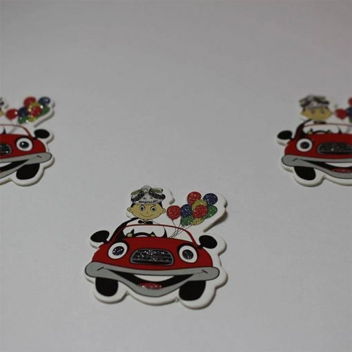 1597055233305429 Karton Sticker Arabalı Sünnet Çocuğu 1 Paket 1