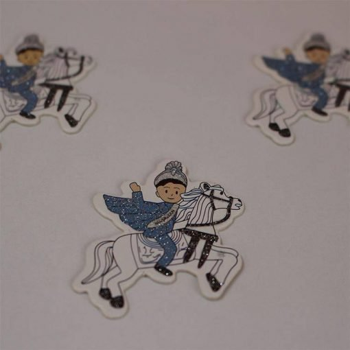 1597055608129430 Karton Sticker Atlı Sünnet Çocuğu 1 Paket 1