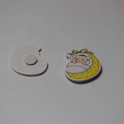 1597056922777411 Yapışkanlı Kundakta Bebek Sticker 1 Paket 2 1