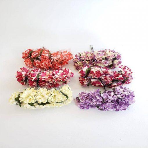 1597209319541008 Kağıt Karanfil Çiçek 120 li Paket 1 1