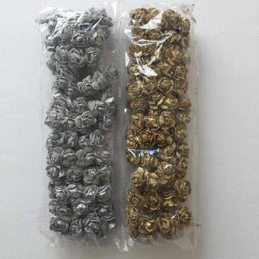 1597209894448017 Simli Kağıt Gül Çiçek Paket 1 1