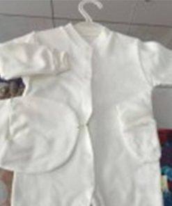 1596788159618257 Bebek Tulum Yuvarlak Sapkali 6 9 ay Beyaz Krem Pembe Mavi 1
